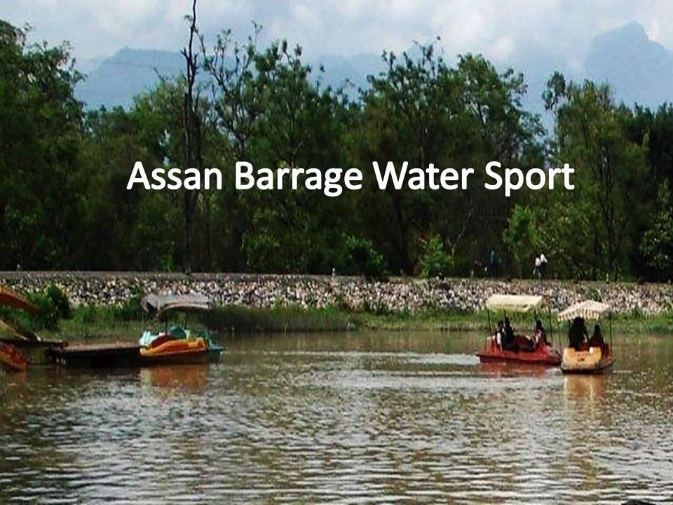 Asan Barrage Water Sport Resort